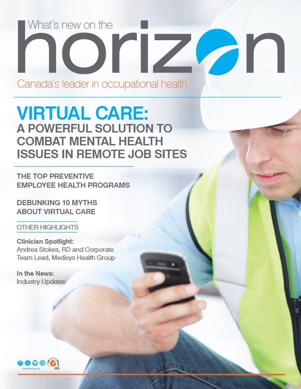 Cover Horizon Newsletter October 19